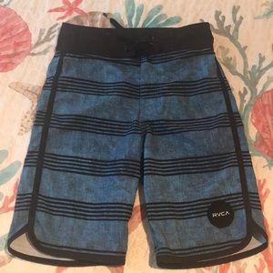 Boys Rvca swim trunks size 23 waist